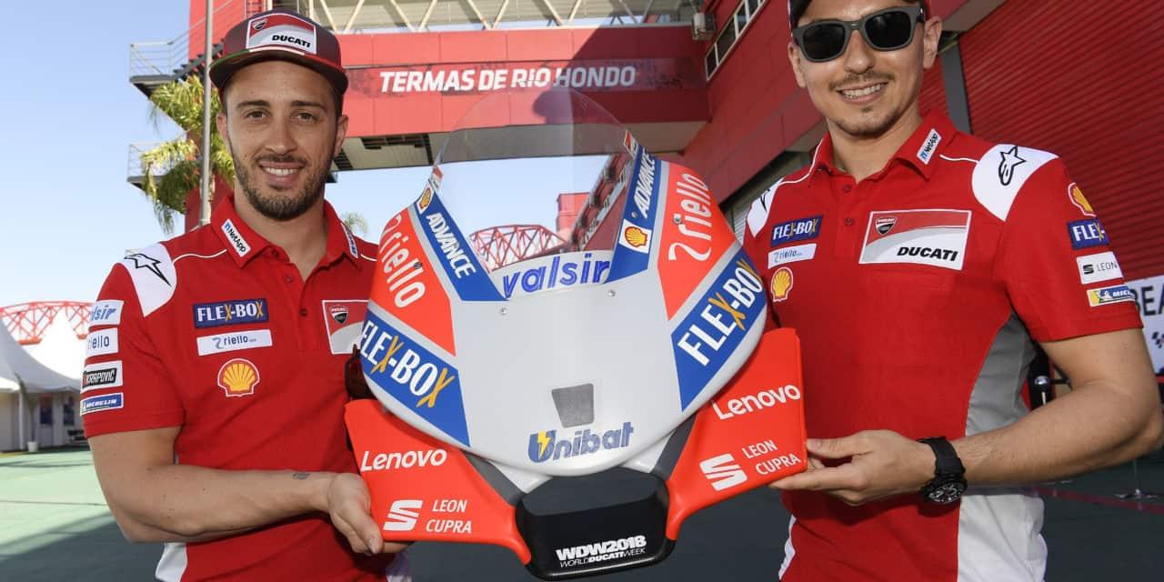 Lenovo postal tehnološki partner ekipe Ducati  v tekmovanju Moto GP