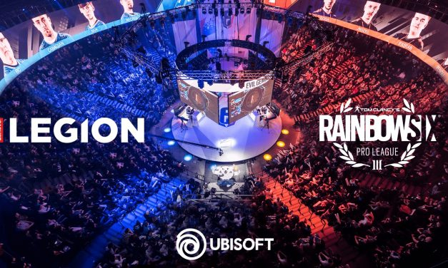 Lenovo Legion™ je partner družbe Ubisoft® in uradni sponzor tekmovanja Tom Clancy's Rainbow Six® Siege Pro League