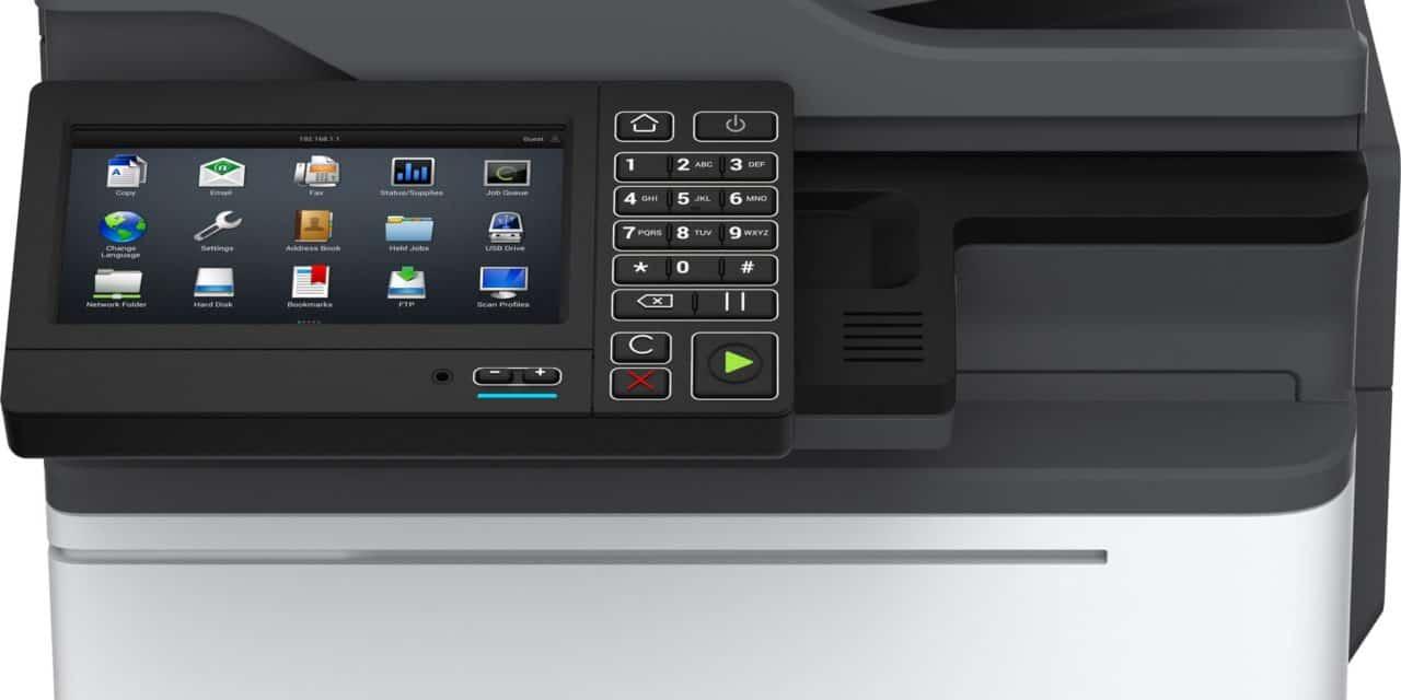 Lexmark predstavil novo generacijo A4 barvnih in črno-belih večopravilnih naprav