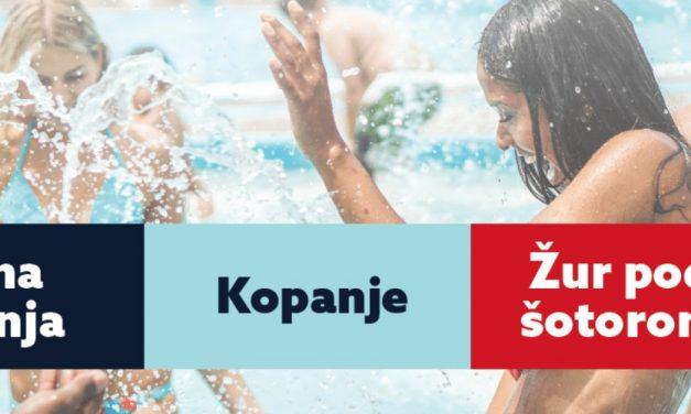 Otvoritev kopalne sezone na Mestnem kopališču Višnja Gora (ob 12.00) z Rock partyzani (ob 20.00)