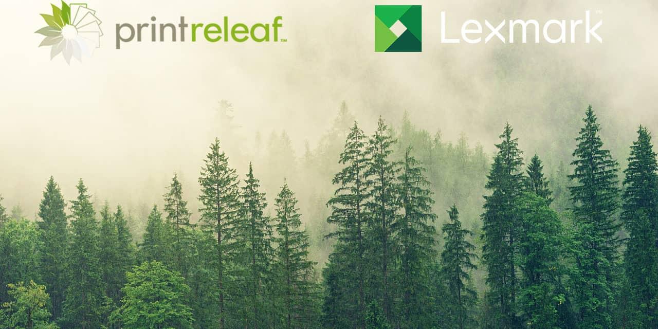 Lexmark in PrintReleaf nudita avtomatiziran program trajnostnega razvoja tiskalniških okolij