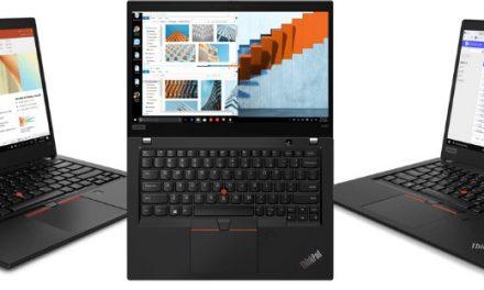 Zanesljivost prenosnikov ThinkPad združena z zmogljivostmi novih mobilnih procesorjev AMD Ryzen PRO