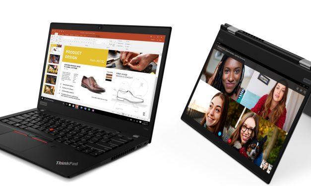 Prenovljeni poslovni prenosniki ThinkPad opolnomočijo izbiro in svobodo