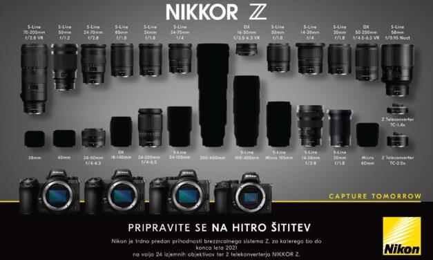 Vstopite v svet polnega formata z brezzrcalnim Nikon Z 5
