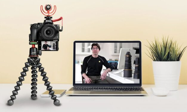 Nikonov fotoaparat je lahko tudi spletna kamera