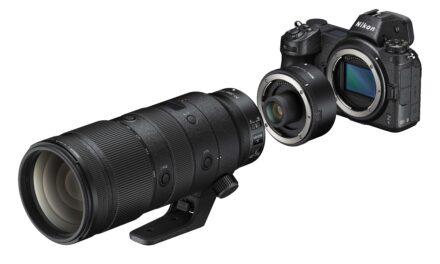 Nova telekonverterja Nikon Z za daljše goriščnice
