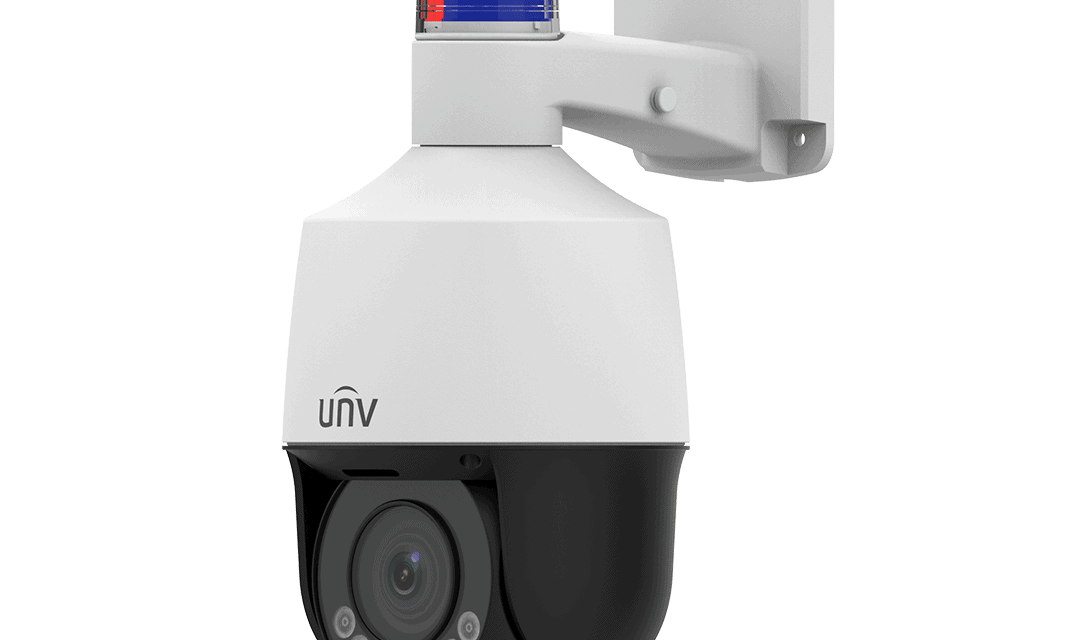 Uniview varnostna kamera z aktivno komunikacijo in opozarjanjem