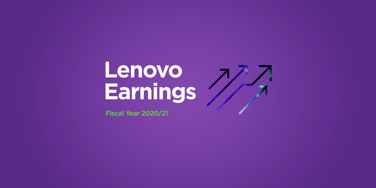 Poslovni rezultati 2020/21 skupine Lenovo